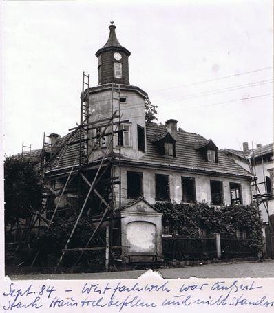 Meinholdsches Turmhaus 1984