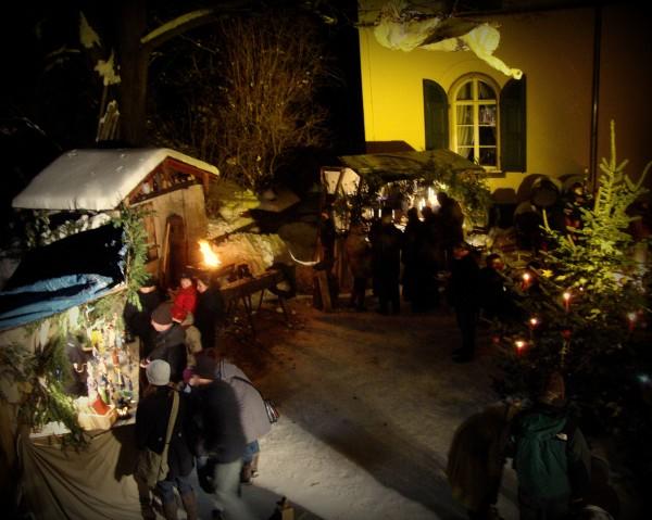 Weihnachtsmarkt auf dem Gutshof