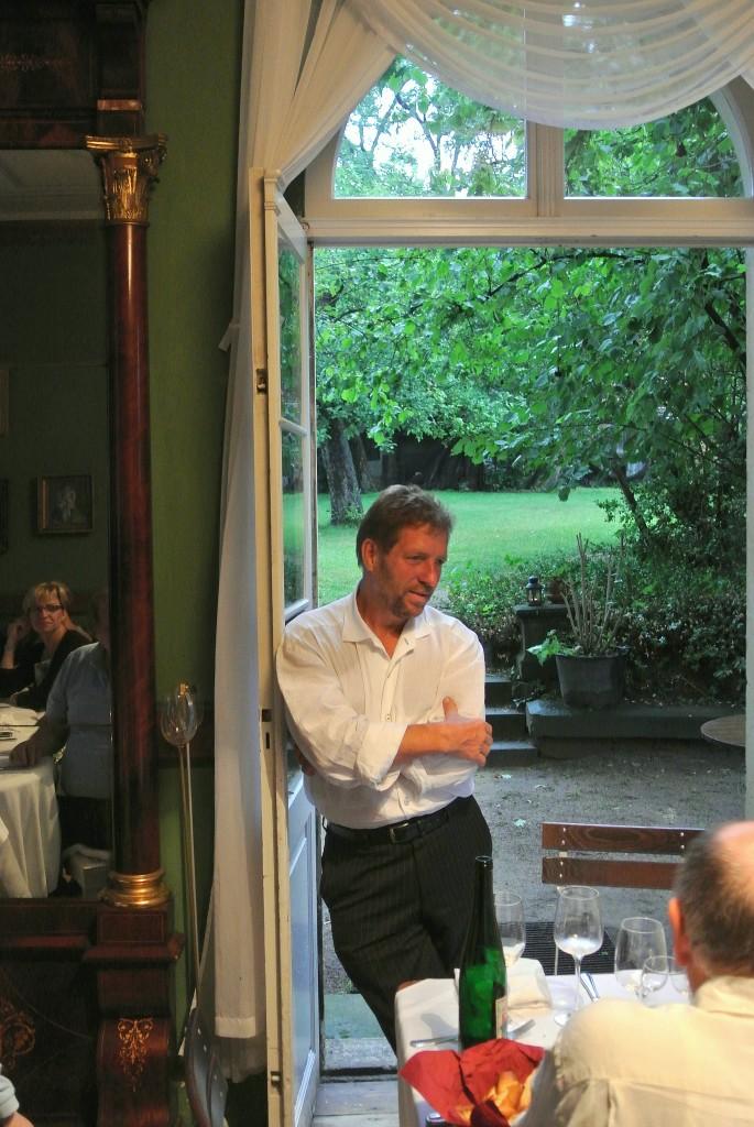 """Klaus Zimmerling zu Gast im Weingut Aust zu """" Zwei Winzer im Portrait """""""