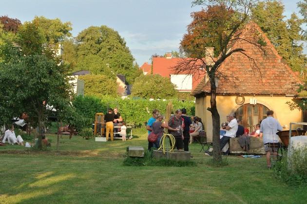 Unser Garten an den Weinbergen ist ebenfalls an diesem Wochenende geöffnet.