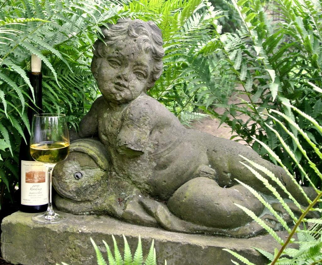 Garten im Weingut Aust