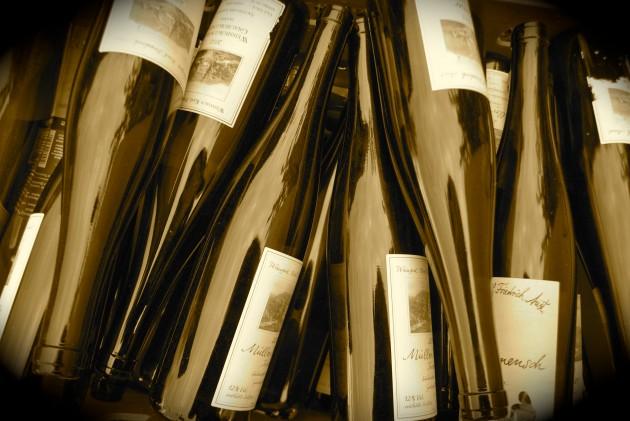 Jungweinund Jahrgangsprobe für Gastronomen und Händler im Weingut Aust