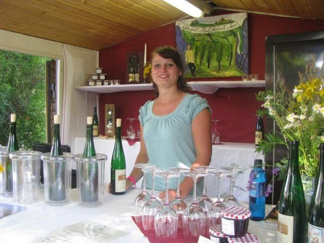 Unser Wein darf zum Elbhangfest nicht fehlen...
