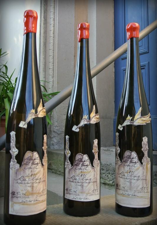 Weinflasche Magnum 2013